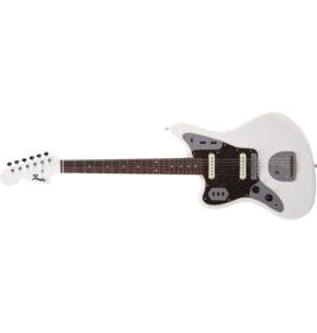 Fender Japan Limited Edition Traditional '60s Jaguar Arctic White Left-Handed Electric Guitar & Case