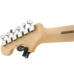Fender Bullet 360 Degree Rotatable Clip On Tuner, Black