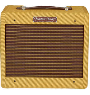 Fender American Hand-Wired '57 Custom Champ Valve 1x8 Electric Guitar Amplifier Combo