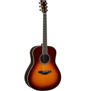 Yamaha LL-TA TransAcoustic Electro Acoustic Guitar - Brown Sunburst