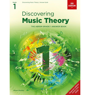 ABRSM: Discovering Music Theory Answer Book Grade 1 - 2020+