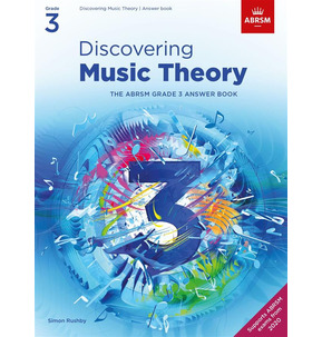 ABRSM: Discovering Music Theory Answer Book Grade 3 - 2020+