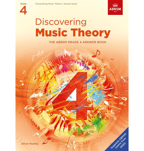 ABRSM: Discovering Music Theory Answer Book Grade 4 - 2020+