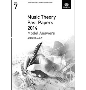 ABRSM Theory Past Paper Model Answers 2014 - Grade 7