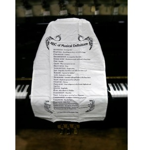ABC of Music Definitions Apron - AP03 by Music Gifts Company