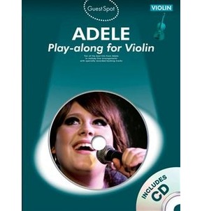 Guest Spot Adele Book/CD for Violin