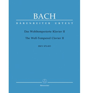 Bach - The Well-Tempered Clavier II (Barenreiter Edition)