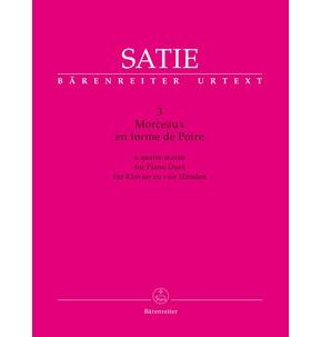 Satie - 3 Morceaux en forme de Poire - Piano Duet