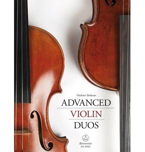 Advanced Violin Duos: Particell mit Stimmen (Barenreiter)