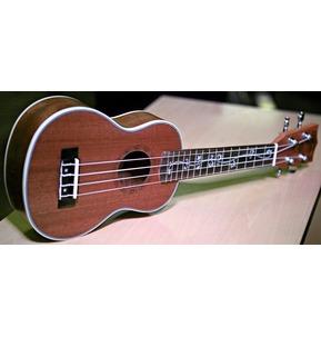 Better Sapele Soprano Ukulele Aquila Strings Pearloid Neck