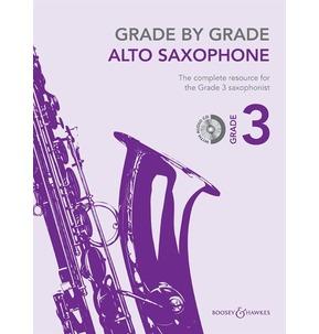 Grade By Grade for Alto Saxophone (Boosey & Hawkes) Grade 3