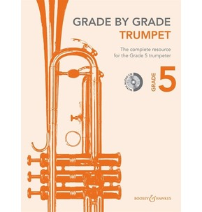 Grade By Grade for Trumpet CD Included (Boosey & Hawkes) Grade 5