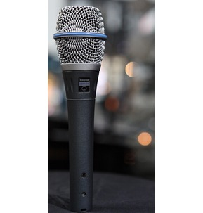 Shure BETA 87A Live Vocal Condenser Microphone