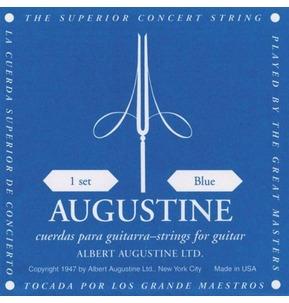 Augustine Blue High Tension Classical Guitar Strings