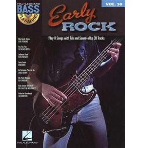 REDUCED! Bass Play-Along Volume 30: Early Rock