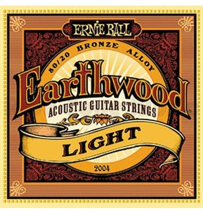 Earthwood 80/20 Bronze Acoustic Guitar Set Lite