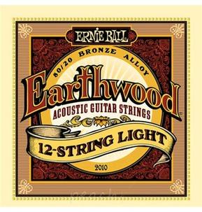 Ernie Ball Earthwood 80/20 Bronze 12-String Acoustic Guitar Strings, Light, 9-46