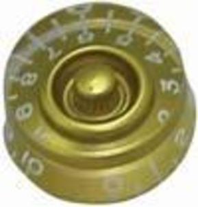 Guitar Tech - Guitar Control Knob - Speed Knob Gold