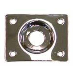 Jack Socket Plate. Rectangular
