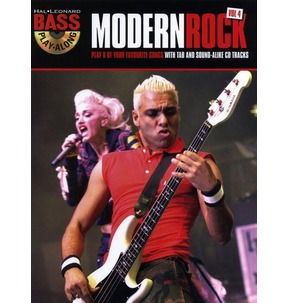 REDUCED! Bass Play-Along Volume 4: Modern Rock TAB