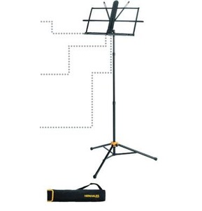 Hercules BS118B Music Stand with Carry Bag