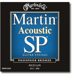 Martin SP Phosphor Bronze Acoustic Guitar Set Medium