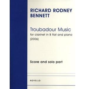 Troubadour Music (Clarinet/Piano)