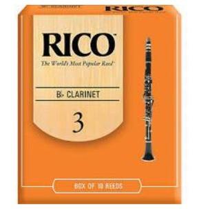 Rico 'Orange Box' Clarinet Reed - Box of Ten
