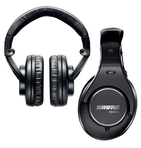 Shure SRH840 Professional Studio and Listening Headphones