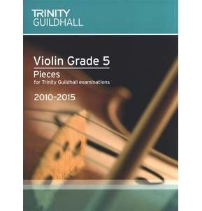 REDUCED! Trinity Guildhall Violin Score and Part 2010-2015 Grade 5 - Sale