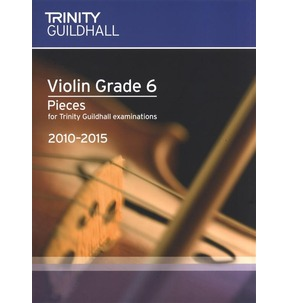 REDUCED! Trinity Guildhall Violin Exam Pieces 2010-2015 Grade 7 - Sale