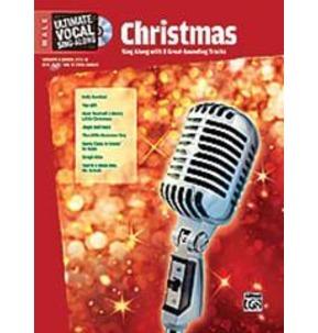 Ultimate Singalong Christmas Male Book/CD