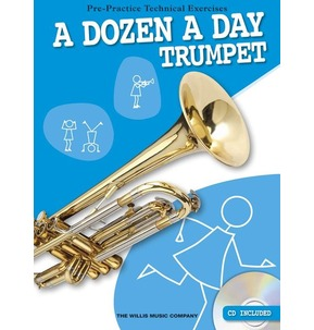 A Dozen A Day Trumpet with CD - SALE