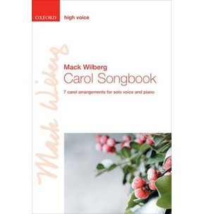 Carol Songbook High Voice Wilberg