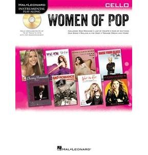 Hal Leonard Instrument Play Along Women of Pop Book/CD