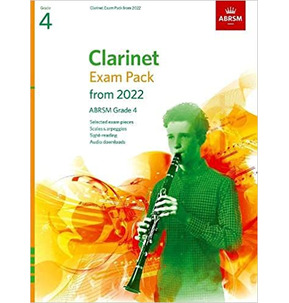 ABRSM Clarinet Exam Pack from 2022 - Grade 4