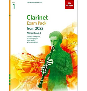ABRSM Clarinet Exam Pack from 2022 - Grade 1