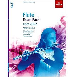 ABRSM Flute Exam Pack from 2022 - Grade 3