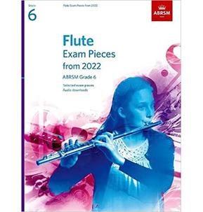 ABRSM Flute Exam Pieces from 2022 - Grade 6
