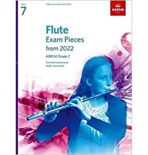 ABRSM Flute Exam Pieces from 2022 - Grade 7