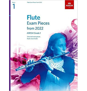 ABRSM Flute Exam Pieces from 2022 - Grade 1