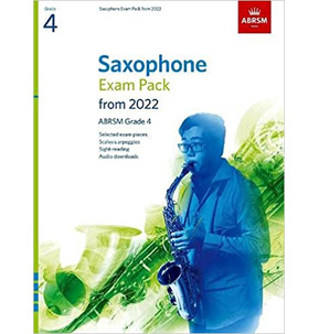 ABRSM Saxophone Exam Pack from 2022 - Grade 4