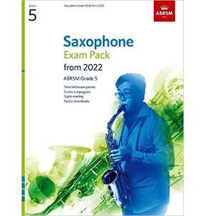 ABRSM Saxophone Exam Pack from 2022 - Grade 5