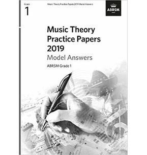 ABRSM Music Theory Model Answers 2019, Grade 1
