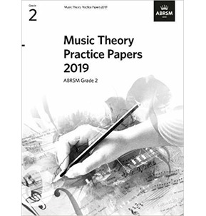 ABRSM Music Theory Practice Papers 2019, Grade 2