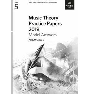 ABRSM Music Theory Model Answers 2019, Grade 5