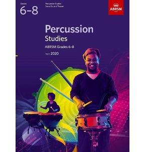 ABRSM Percussion Studies - Grades 6-8 (2020)