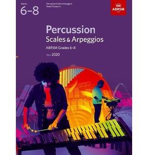 ABRSM Percussion Scales & Arpeggios - Grades 6-8 (2020)