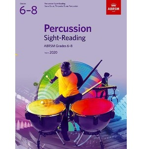 ABRSM Percussion Sight-Reading - Grades 6-8 (2020)