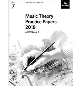 ABRSM Music Theory Practice Papers 2018, Grade 7